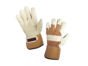 Tough Duck Pile Lined Full Grain Leather Fitters Gloves