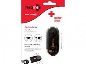 ResQMe Personal Alarm Red Cross packaging