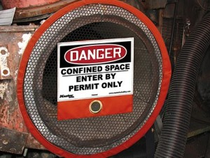 Confined Space Signage
