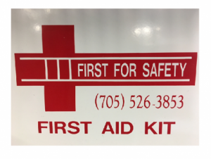 W.S.I.B Deluxe Regulation 1-5 Employee First Aid Kit