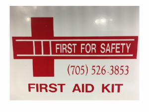 W.S.I.B Deluxe Regulation Contractors 1-15 Employee First Aid Kit