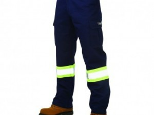 Work King Safety Navy Work Pant