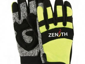 Hi-Vis Cut Resistant Mechanics Gloves