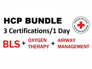 HCP BUNDLE: BLS (HCP), Oxygen Therapy & Airway Management