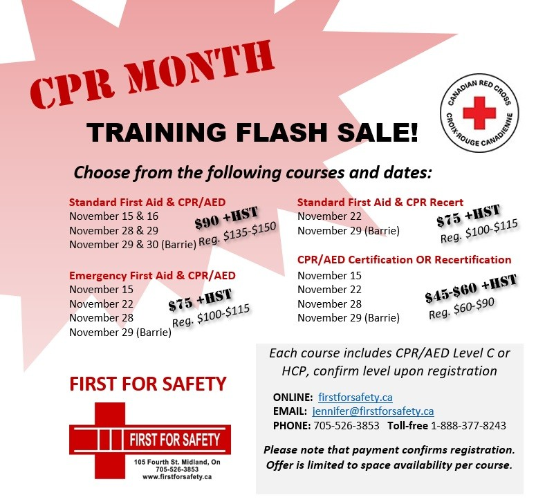 Emergency First Aid Level Cpr Aed First For Safety
